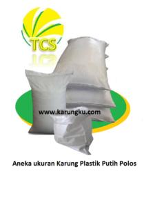 Jual Karung Plastik Putih Polos
