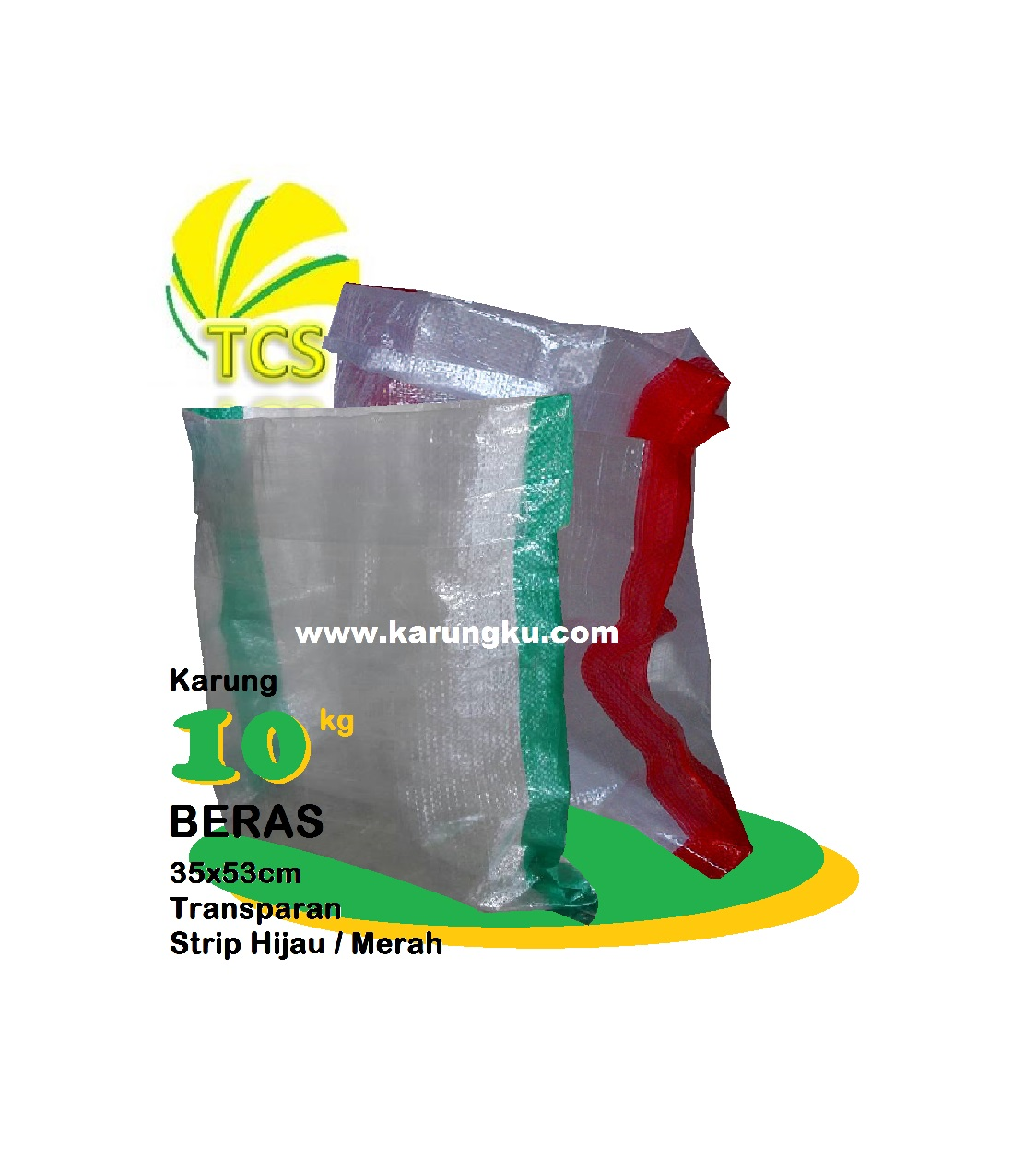 You are currently viewing Karung Plastik Transparan 10kg (35x53cm)