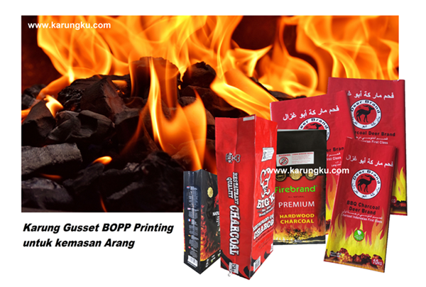 Karung Arang BOPP Printing Gusset