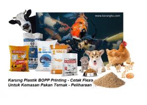 Karung Plastik Kemasan Pakan Ternak