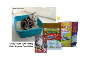 Karung Plastik Kemasan Pasir Kucing